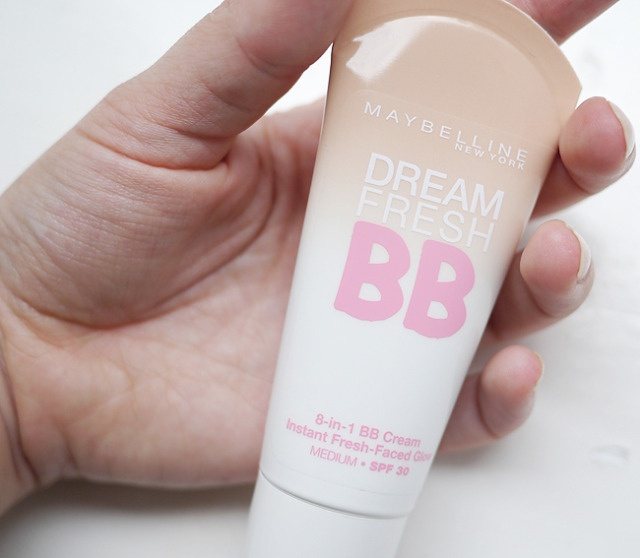 Maybelline Dream Fresh BB Cream.... Just bought this recently!! It is AWESOME!! It really works. So if you're looking for a new foundation I recommend it!! :) so happy