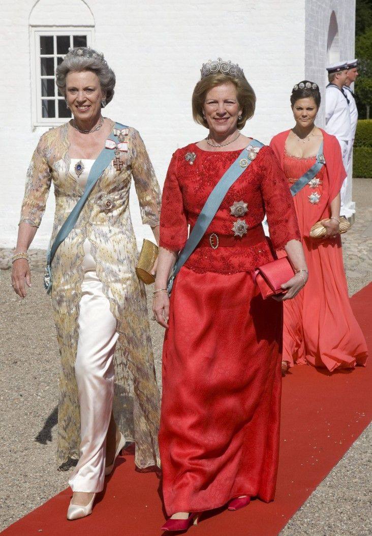 Crown Princess Victoria, Princess Benedikte and Queen Anne Marie
