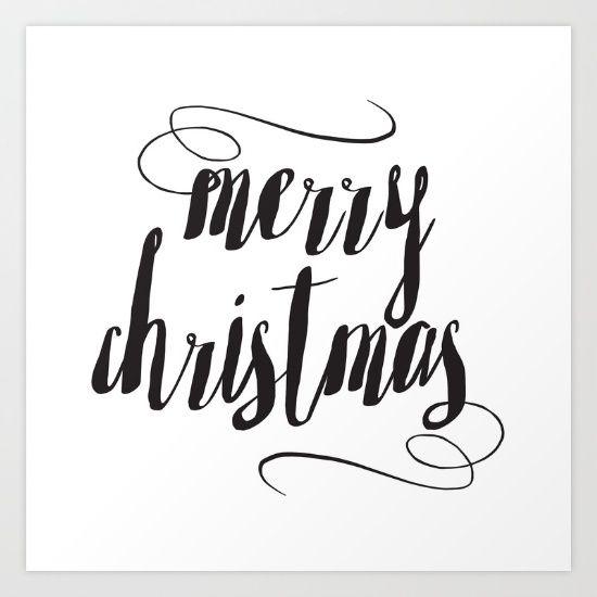 Merry Christmas by McGovern Studio Holiday Art Print