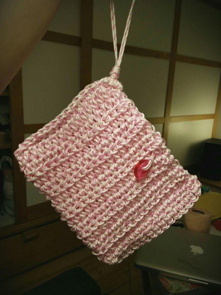 Handbag #rope#recycling#handmade