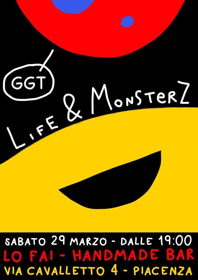 GGT 29 marzo al Lo Fai di Piacenza!