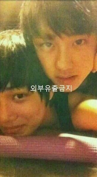 EXO Kai and Kyungsoo's pre-debut photo is loved by fans ~ Latest K-pop News - K-pop News   Daily K Pop News