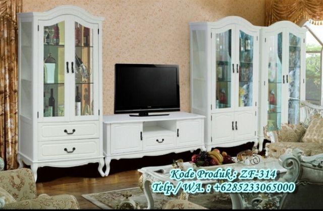 Display Lemari Hias Meja TV Modern Desain http://www.zahirartfurniture.com