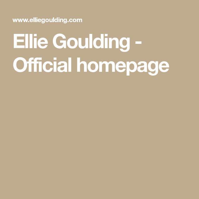 Ellie Goulding - Official homepage