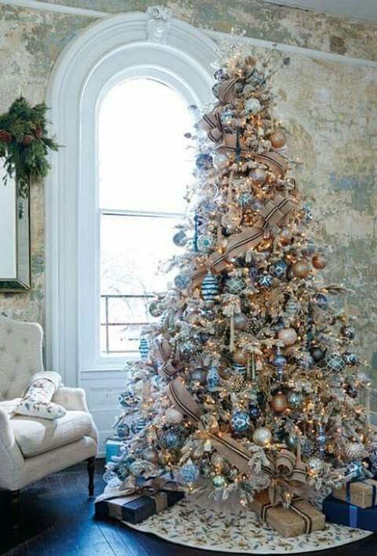 The 25+ best Blue christmas tree decorations ideas on Pinterest ...