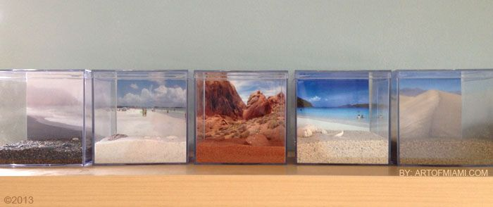 Nostalgic Sand Collection Display by Art of Miami My sand collection began with a trip to the Bahamas along my mother and her three sisters. It was the first time I had been able to convince my mom...