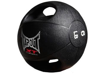 TAPOUT XT TRAINING BALL (6 POUNDS) - $44.95 USD The weighted XT Training Ball will be your best friend and your worst enemy. The super high quality, dual grip, sweat resistant training tool will absolutely carve and shred your entire body in ways you never thought possible. Get yours now and take your training to the next level.
