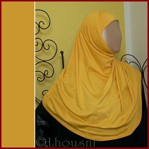 islamische-kleidung,muslimische-kleidung,abaya,khimar,hijab,jilbab,gelabia,kopftuch,schal,schaltuch,untertuch,bone,armstulpen,parfüm-ohne-alkohol,islamische-literatur,damenkleidung,amira-hijab,poncho,tunika,hose,kleid,orientalische-kleidung,sarouelhose-AMIRA Hijab MIDI 100% Cotton 2-tlg. / SONNENGELB