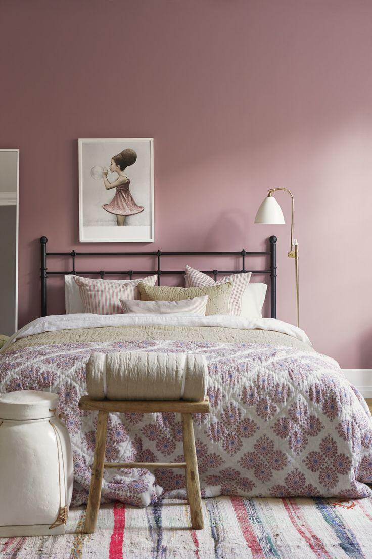 Boråstapeter - soft pink