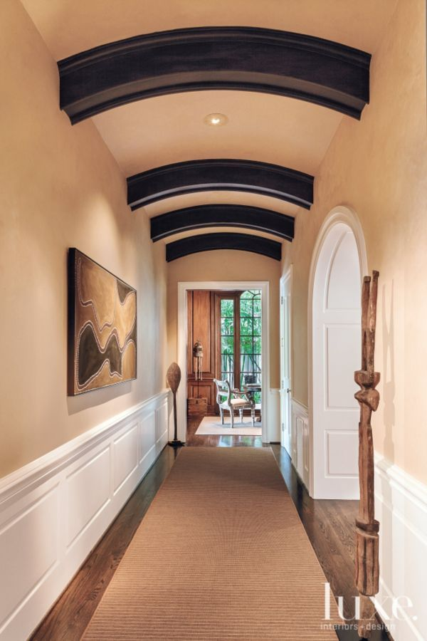 A Modern Take On Ceiling Beams