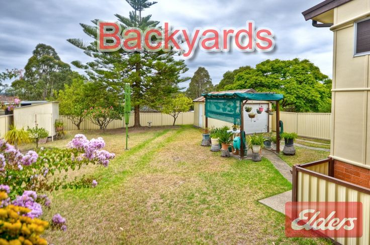 3 bset rd Backyard, Seven Hills NSW homes for sale Seven Hills NSW Backyards form homes we have sold in our local area through our Elders Real Estate Agency to help you with your own Backyard ideas. This will also help you get a feel for the area. Go to for more information about the area http://www.elderstoongabbie.com.au/ or call us on 02 9896 2333