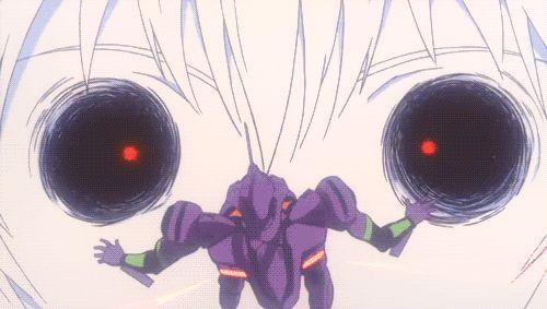 gif lilith neon genesis evangelion evangelion nge Rei Ayanami Shinji Ikari The End of Evangelion