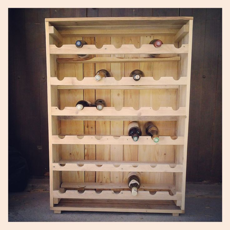 1000 images about vin rangement on pinterest pvc pipes - Fabriquer support bouteille vin ...