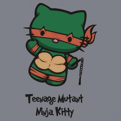 Teenage Mutant Ninja Kitty: Kitty Birthday, Kitty Ninjas, Ninjas Kitty, Teenage Mutant Ninja, Kitty Heavens, Kitty Parodi, Hello Kitty, Kitty Crafts, Superhero