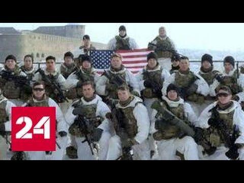 Американские военные сфотографировались с флагом США у границы Эстонии и России » Новости со всего мира