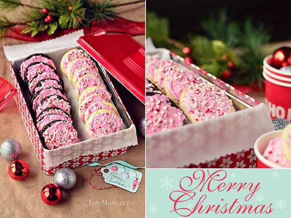 Cake Mix Peppermint Cookies