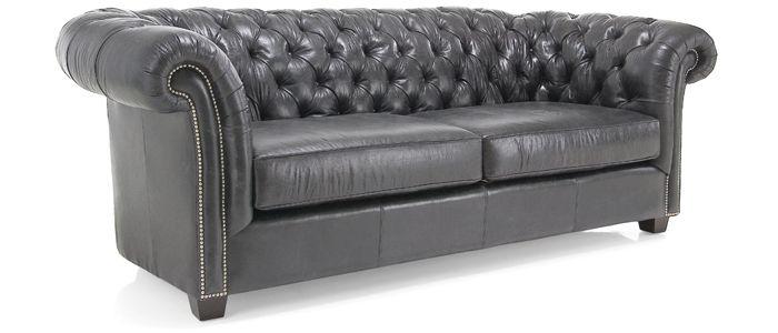 "7300 Churchill- 78"" sofa in white"