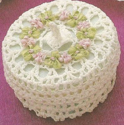Crochet box with diagram - good for begginers