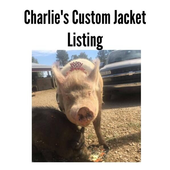 Charlie's Custom Jacket Listing