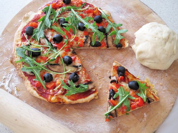 Never buy pizza again!  This alternative is quick, easy and very tasty!
