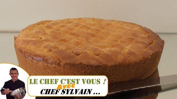 Gâteau basque - Recette par Chef Sylvain