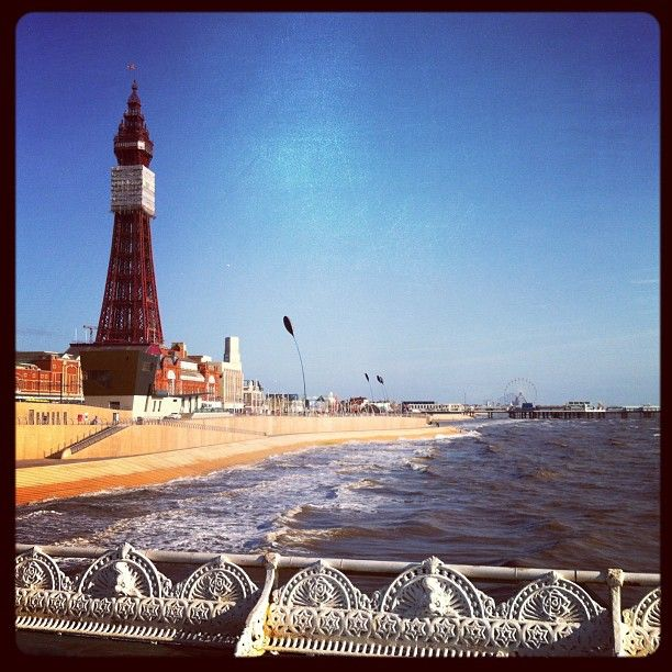 The seaside town they forgot to close down. BLACKPOOL