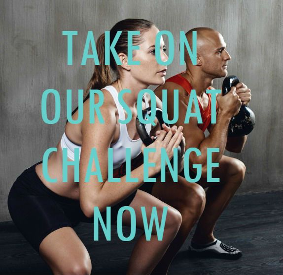 Squat your way to a stronger bum with this great challenge.
