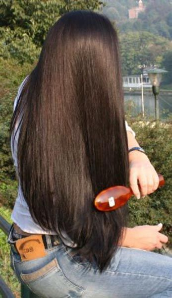 I first pictured her hair stick straight and jet black. Something like this audio ay the end when she's all cleaned up.