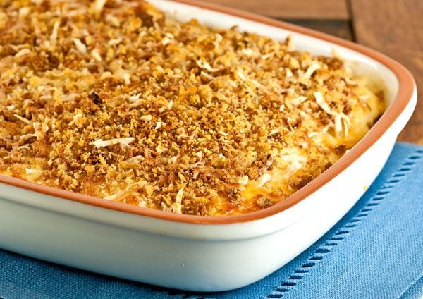 Spaghetti Squash Au Gratin. ( I made this just last night and it is ...