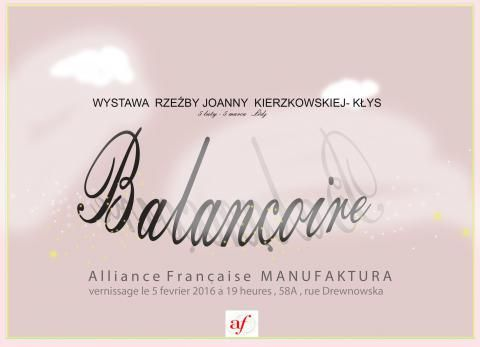 Balançoire - wystawa rzeźby | Alliance française Łódź