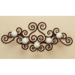 Swirl Wall Candle Holder - nice