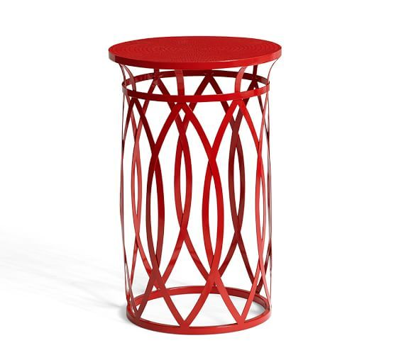 Ryan Wire Accent Table | Pottery Barn · Small End TablesGlass ...
