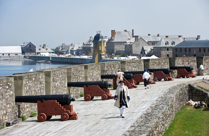 Travel back in time to the Fortress of Louisbourg — where the sights and sounds will keep you snapping photos and shooting videos to share with friends still stuck in the 21st century.