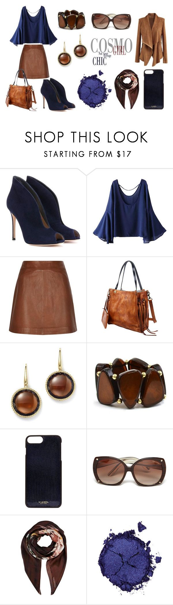 """automne"" by celine-diaz-1 on Polyvore featuring mode, Gianvito Rossi, WithChic, Reiss, Old Trend, Roberto Coin, Kim Rogers, Vianel, Tom Ford et Valentino"