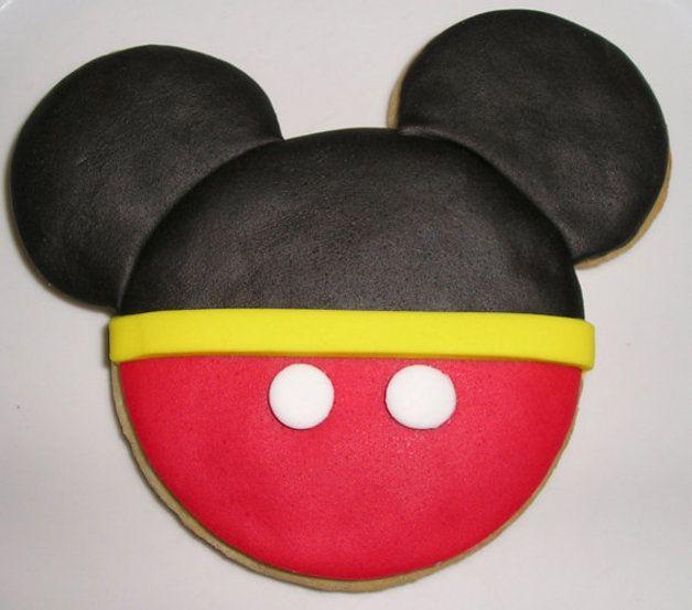 12 Mickey Mouse-Plätzchen scherzt Geburtstagsfeier