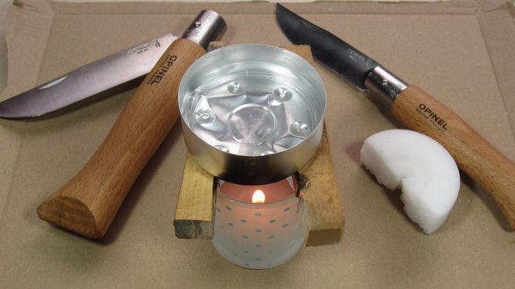 Opinel gegen Feuchtigkeit imprägnieren - Aufquellen des Holzes verhinder...