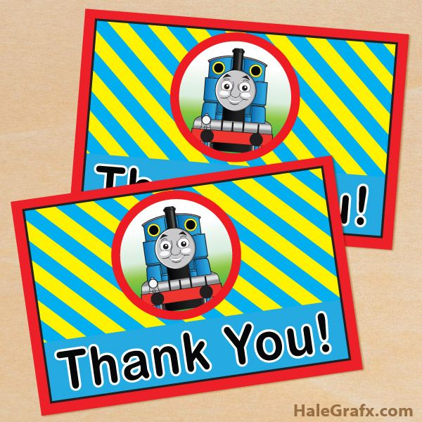 223 best thomas the train printables images on pinterest train thomas train thank you free printable thomas the tank engine thank you card filmwisefo