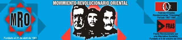 Uruguay, Movimiento Revolucionario Oriental: Repudio al decreto que pretende fundir las armas tupamaras