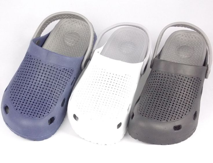 New Women's Clogs Style Gray Strap Sandals Sport Water Shoes Black White Blue #Unbranded #SportSandals