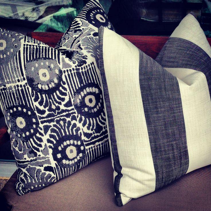 Outdoor pillows. www.ggfcapital.com