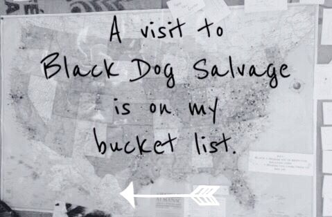 Pin if a visit to Black Dog Salvage in Roanoke, Virginia is on your bucket list!