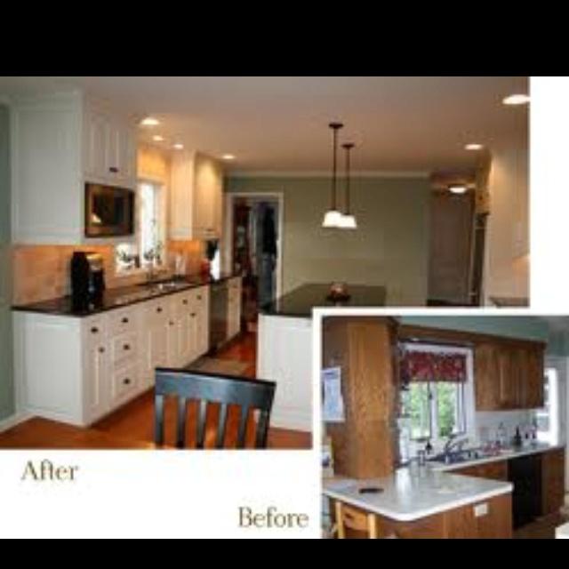 Kitchen Redo For The Home Pinterest Kitchen Redo