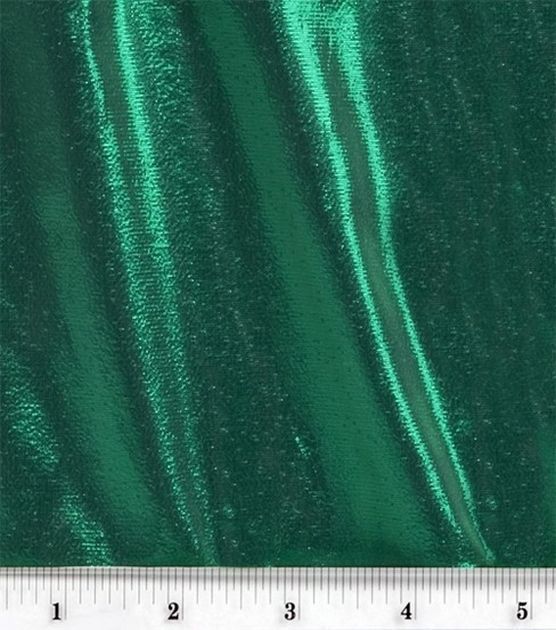 Tissue Lame Fabric-Green