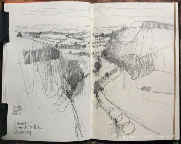 David Parfitt Day 30 #DrawingAugust spent most of the day driving & collecting work but managed a little stroll & the 'odd' sketch