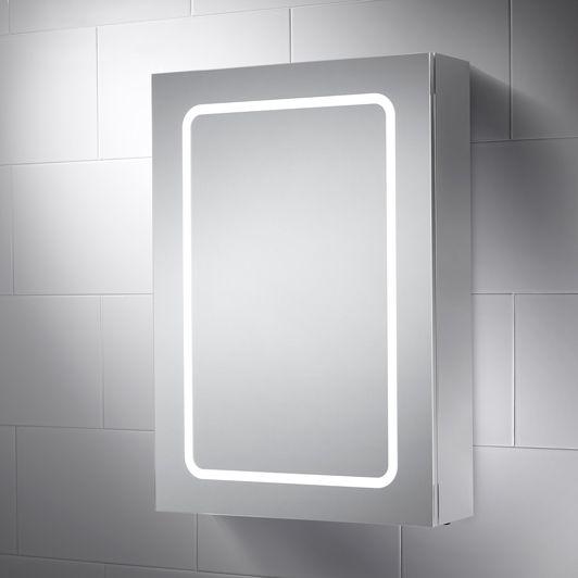 Hanbury LED Illuminated Bathroom Cabinet Mirror