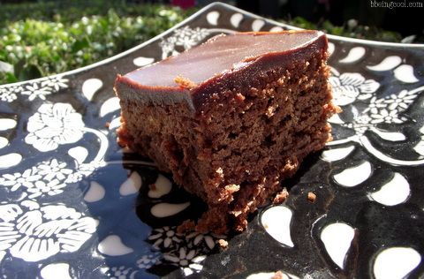 nigella chocolate cake slice