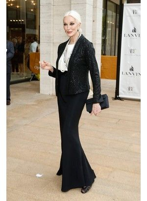 Кармен Делль'Орефиче I would like to look like she,at my 80th birthday....