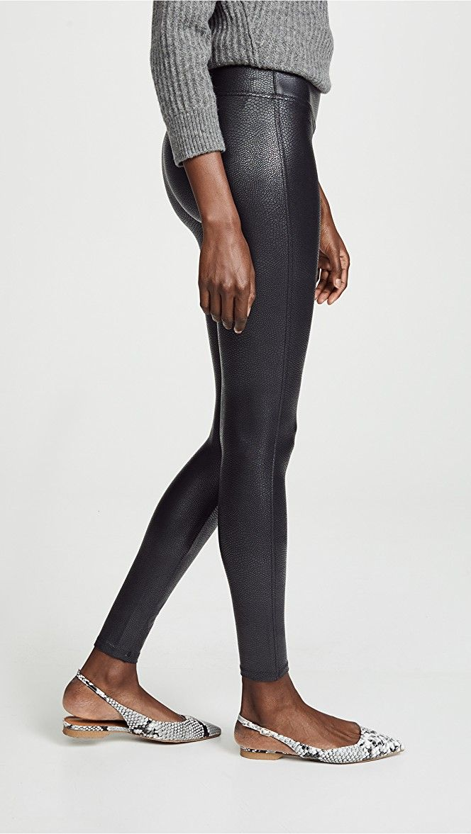 2564149274a01 SPANX Faux Leather Pebbled Leggings | 15% off 1st app order use code:  15FORYOU