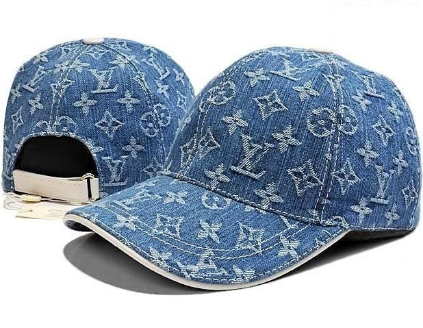 Louis Vuitton Denim Monogram Baseball Cap  95fb3c33bbf8