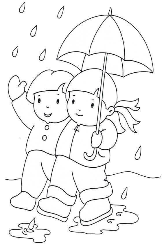 Rainy Day Coloring Pages Collection For Kids Free Coloring Sheets Coloring Pages Free Coloring Sheets Animal Coloring Pages